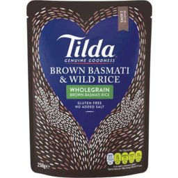Photo of Tilda St/Rice Brwn Basmati/Wild