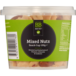 Photo of Best Buy Mixed Nuts 120gm