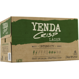 Photo of Yenda Crisp Lager Stubbies
