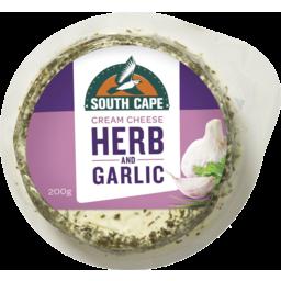 Photo of South Cape Herb & Garlic Cream Cheese 200gm