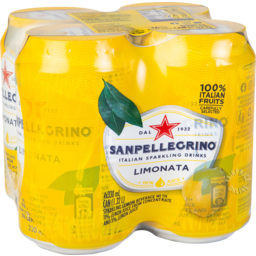 Photo of San Pell Limonata 4x330ml
