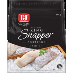 Photo of I & J The Finest King Snapper Skin On Fillets 800g