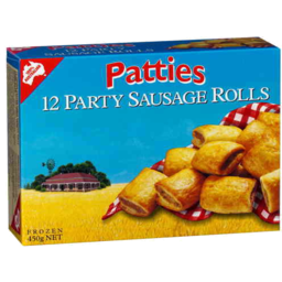 Photo of Patties Sausage Rolls Party 450g