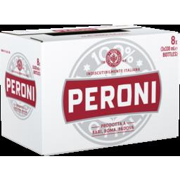 Photo of Peroni Red Bottles