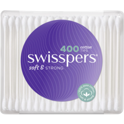 Photo of Swisspers Cotton Tips 400 Pack