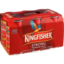 Photo of Kingfisher Strong 330ml Cans 6 Pack