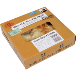 Photo of Who Ate All The Pies Steak & Cheese Family Pie 750g