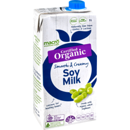 Photo of Macro Organic Soy Milk 1L