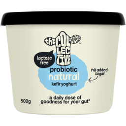 Photo of The Collective Probiotic Kefir Yoghurt Natural 500g