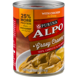 Photo of Purina Alpo Prime Slices Homestyle With Chicken Dog Food