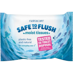 Photo of Natracare Wipes - Safe To Flush