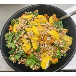 Photo of Honey Mustard Kumara & Walnut Salad