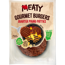 Photo of Eaty Gourmet Burgers Quarter Pound Patties 250g