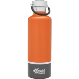 Photo of Cheeki Insulated Bottle Orange Grey 600ml