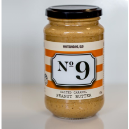 Photo of No 9 Salted Caramel Peanut Butter 375gm
