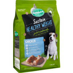 Photo of Nature's Gift Sustain Healthy Weight Chicken Dry Dog Food 2.5kg