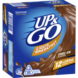 Photo of Sanitarium Up&Go Liquid Breakfast Choc Ice 12x250ml