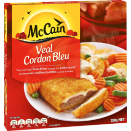 Photo of Mccain Veal Cordon Bleu 320g