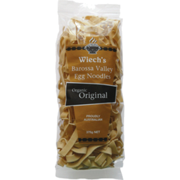 Photo of Wiech's - Noodles - Egg Noodles - Organic Original - 375g