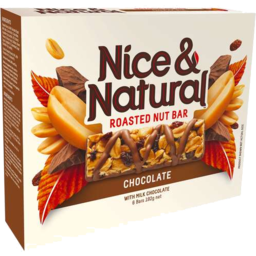 Photo of Nice & Natural Roasted Nut Bar Chocolate 192g 6pk