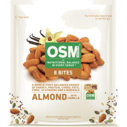 Photo of One Square Meal Almond Bites 8 Pack