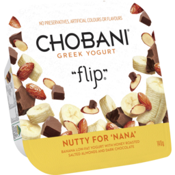 Photo of Chobani Greek Yogurt Flip Nutty For 'Nana' 140gm