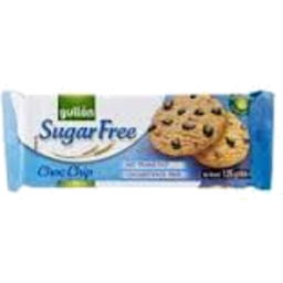 Photo of Gullon Biscuits Sugar Free Chocolate Chip 125g