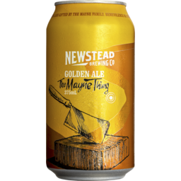 Photo of Newstead Golden Ale Cans