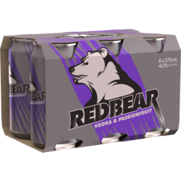 Photo of Red Bear Passionfruit Cans