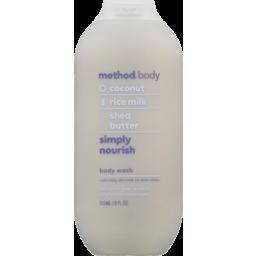 Photo of Method Body Wash Simply Nourish 532ml
