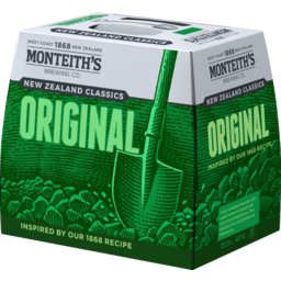 Photo of Monteith's Original 330ml Bottles 12 Pack