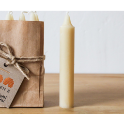 Photo of TAS BEESWAX CANDLES Beeswax Dinner Candle Tapered