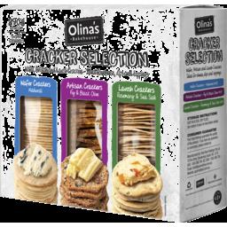 Photo of Olina's Bakehouse Cracker Selection 290g