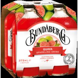 Photo of Bundaberg Guava Sparkling Drink 4x375ml