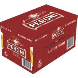 Photo of Peroni Red 4.7% 330ml 24 Pack