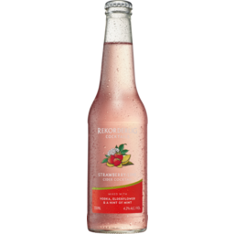 Photo of Rekorderlig Strawberry-Lime Cider Cocktail With Vo