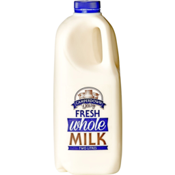Photo of Camperdown Dairy Real Whole Milk 2L