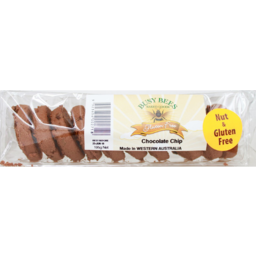 Photo of Busy Bees Gluten Free Choc Chip Biscuit 195g