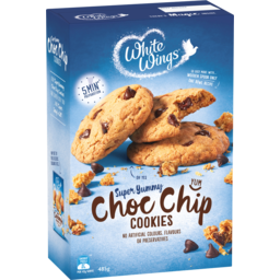 Photo of White Wings Soft Centred Choc Chip Cookies Mix 485g