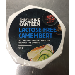 Photo of Canteen Cusine Lactose Free Camembert 125g