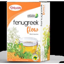 Photo of Morlife - Fenugreek Flow - 30 Tea Bags