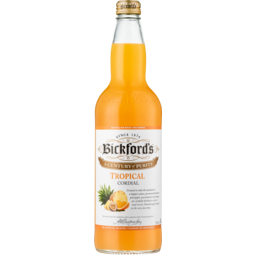 Photo of Bickfords Cordial Tropical 750ml
