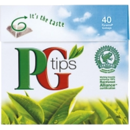 Photo of Pg Tipstea Bags 40