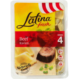Photo of Latina Fresh Beef Ravioli 4 Serves 625gm