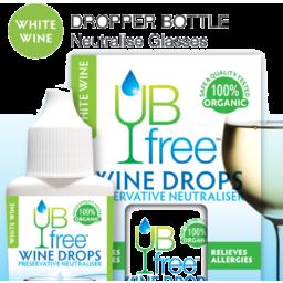 Photo of UB Free White Wine Drops 8ml