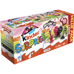 Photo of Kinder Surprise 3 X 20g Multipack Miraculous