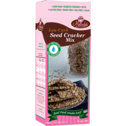 Photo of Melindas Low Carb Seed Cracker Mix 200gm