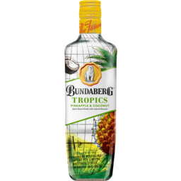 Photo of Bundaberg Tropics Pineapple & Coconut