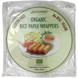 Photo of Watersteps Rice Paper Wrappers (15 Wrappers)