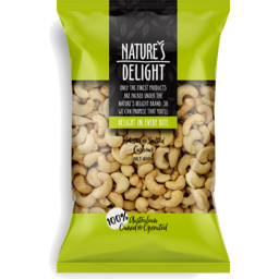 Photo of Nature's Delight Roasted & Salted Cashews 400g